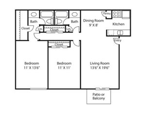 summit floor plan | Avesta Altura Apartments in Riverside Austin, Tx