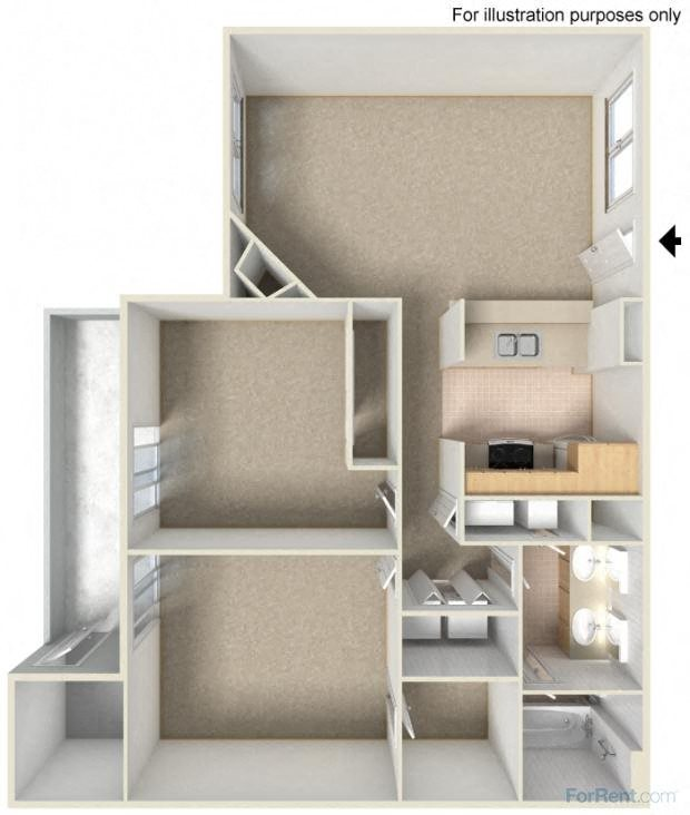 Crystal - Modern Floor Plan 7