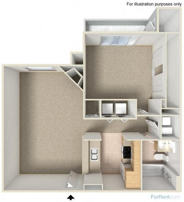 Ashley - Modern Floor Plan 4