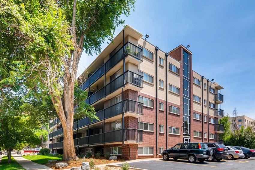 Scandia Apartments Building Exterior
