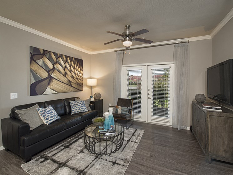 1b living room apartments in pearland