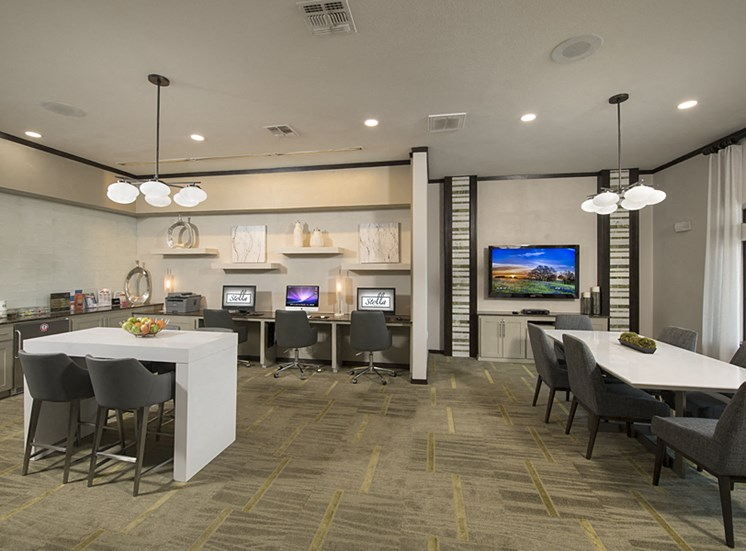 business center apartments in pearland