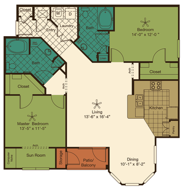two bedroom luxury pearland apartments