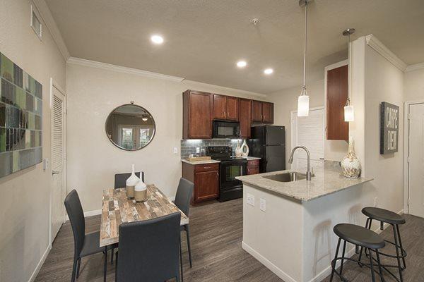 kitchen shadow creek apartments