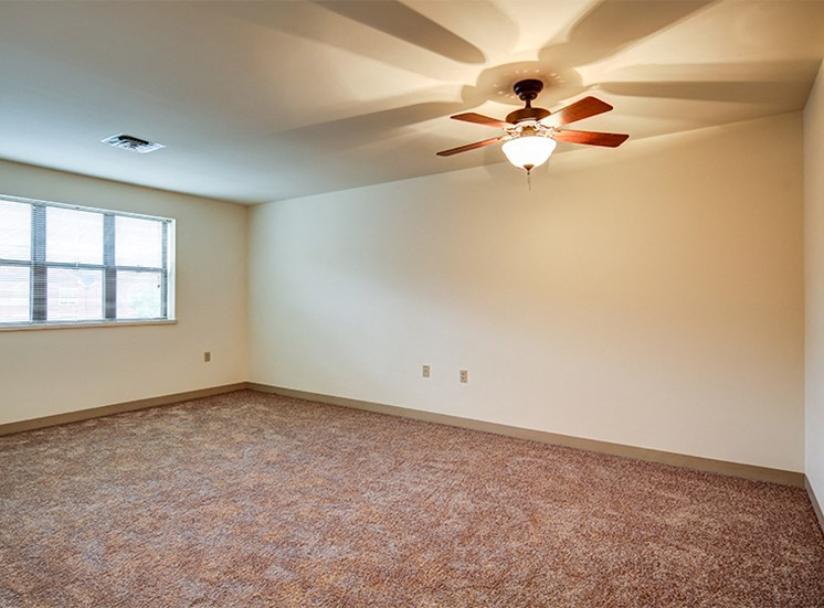 One Bedroom Apartment Style Living Room at Lake Oaks Apartments