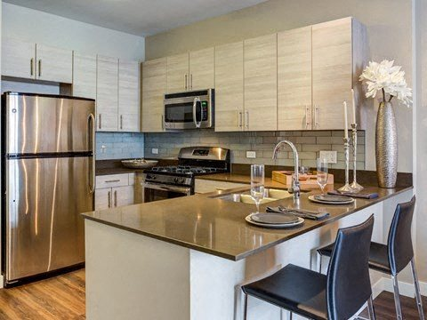 GE® stainless steel appliances