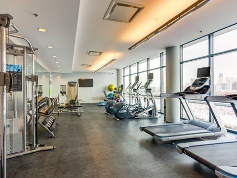 State-of-the art Fitness Facility