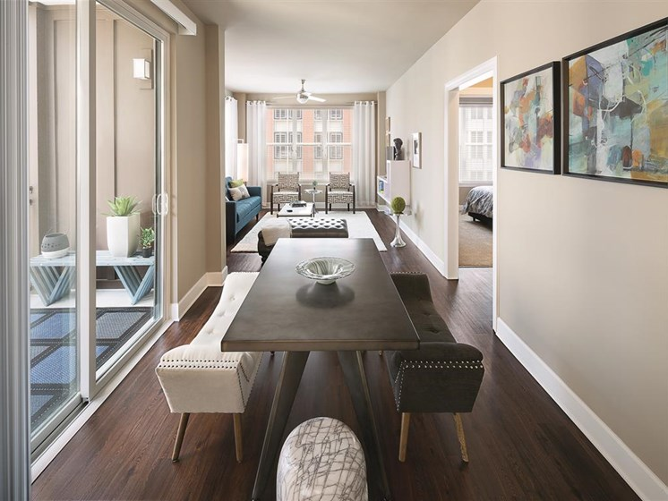Large Private Patios & Balconies at The Edison Lofts Apartments, Raleigh, North Carolina