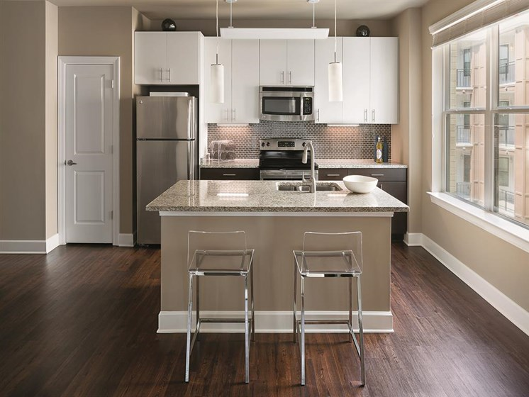 Premium Finish Kitchen Package at The Edison Lofts Apartments, North Carolina