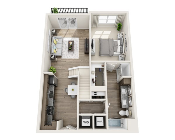 Floor Plans Of The Edison Lofts Apartments In Raleigh Nc