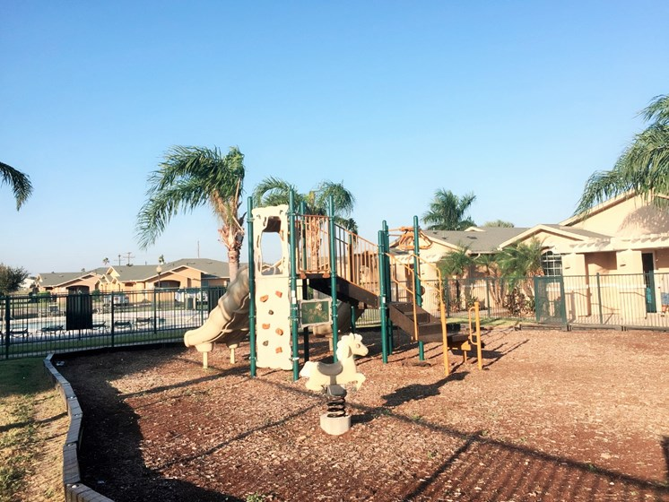 Children's Playground for Casa Saldana residents in Mercedes, Tx