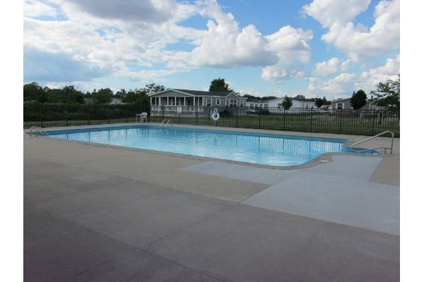 Outdoor Swimming Pool at Green Briar in Burton, MI