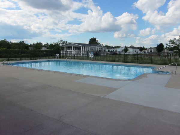 Community Swimming Pool at Green Briar in Burton, MI