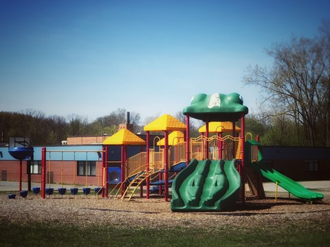 School Playground Connected to Community