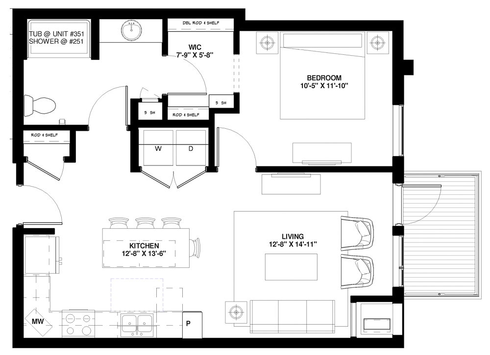 A3 Type A floor plan