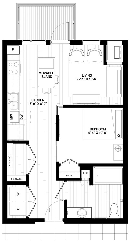 S1 Type A floor plan