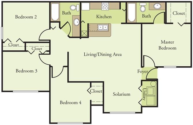 pointe vista i apartments in orlando fl 32839 rentcaf