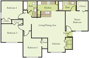 4 Bedroom 2 Bath