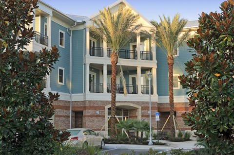 Exterior of The Flats at Tioga Town Center in Newberry, FL