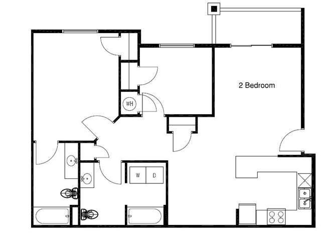 Hawthorn Floor Plan 1