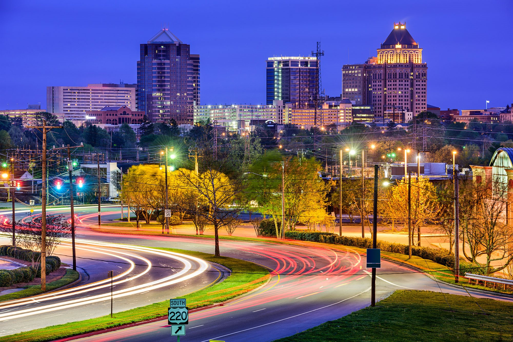 Minutes to downtown Greensboro
