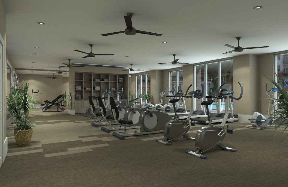 Stay in shape with our 3,000 square foot wellness club