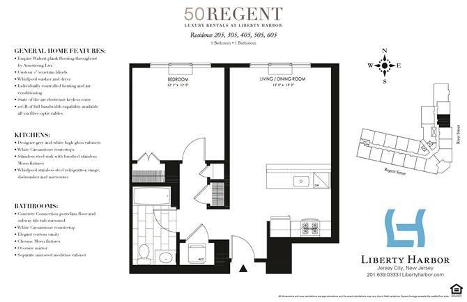 50 REGENT-1 BEDROOM PLAN C