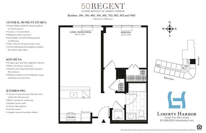 50 REGENT-1 BEDROOM PLAN D