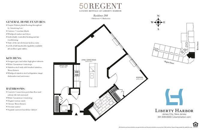50 REGENT-1 BEDROOM PLAN E