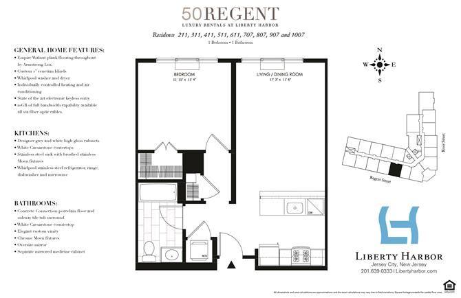 50 REGENT-1 BEDROOM PLAN G