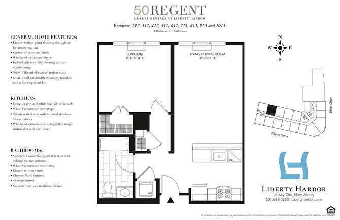 50 REGENT-1 BEDROOM PLAN N