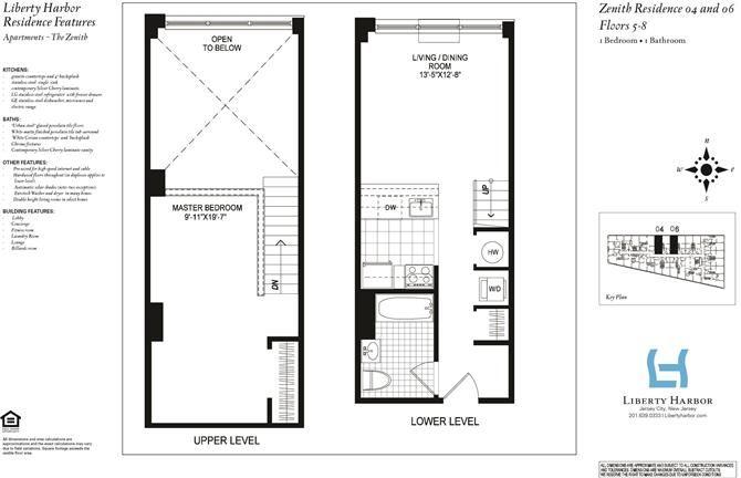 ZENITH 1-BEDROOM DUPLEX PLAN A