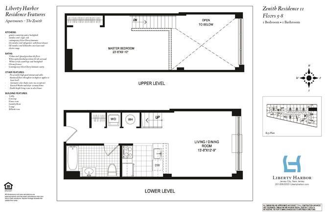 ZENITH 1-BEDROOM DUPLEX PLAN F