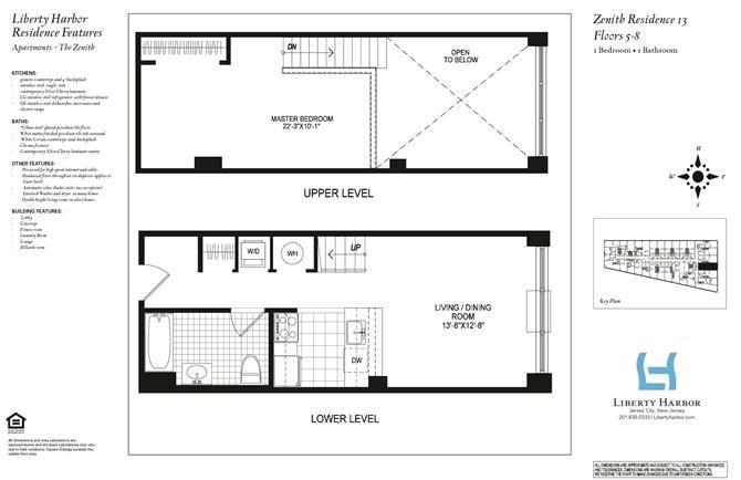 ZENITH 1-BEDROOM DUPLEX PLAN H