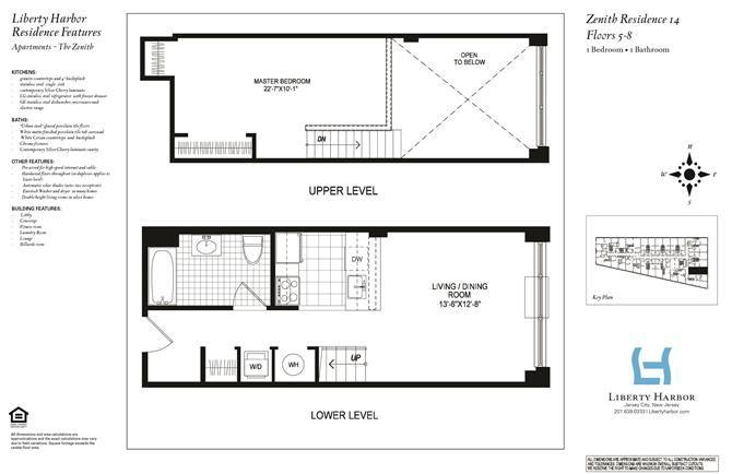 ZENITH 1-BEDROOM DUPLEX PLAN I