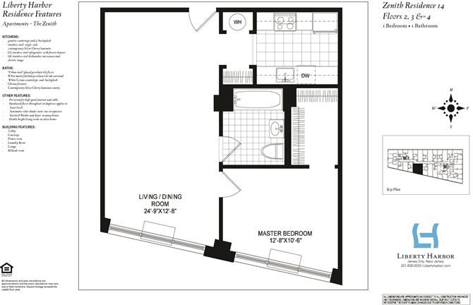 ZENITH 1-BEDROOM PLAN G