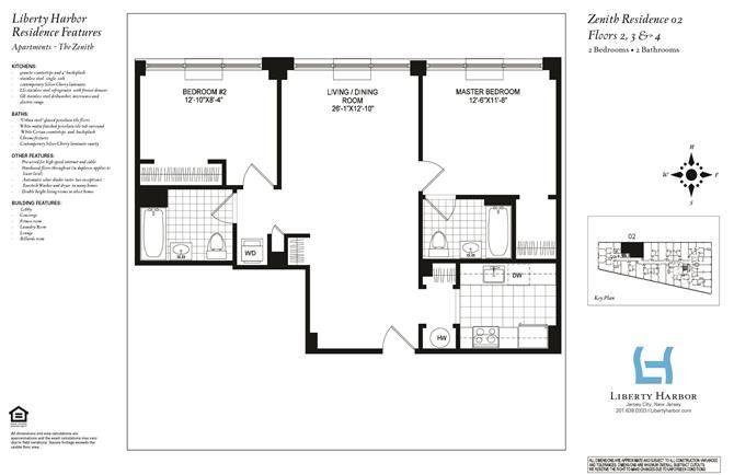 ZENITH 2-BEDROOM PLAN B