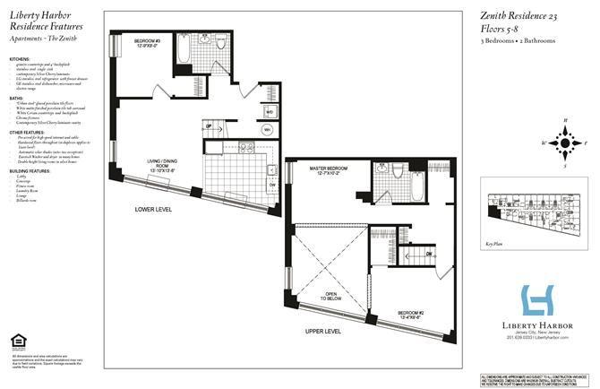 ZENITH 3-BEDROOM DUPLEX PLAN E