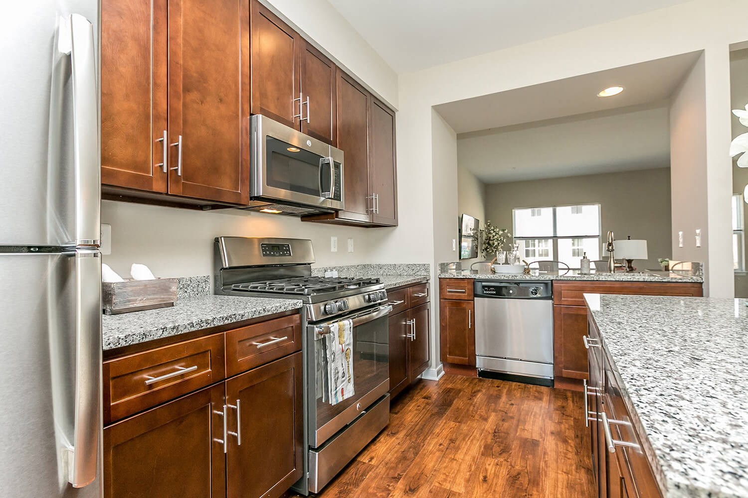 Kitchen at Townes at Pine Orchard, Ellicott City, 21042