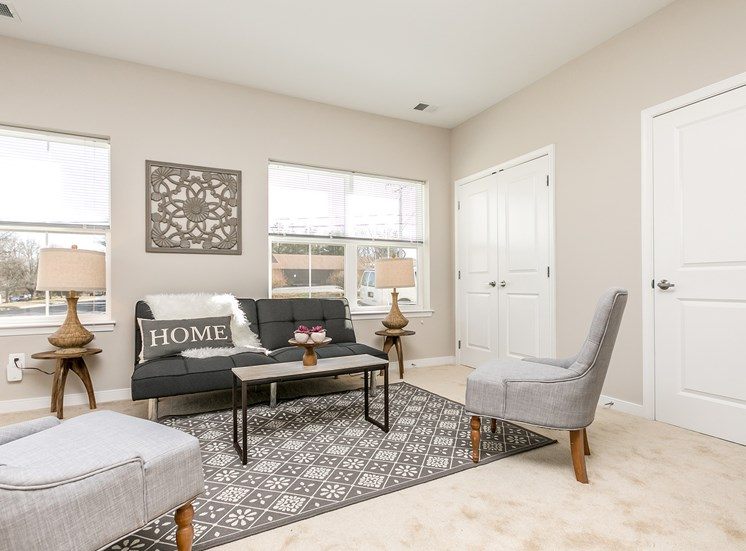 Spacious Bedrooms With Over sized Windows at Townes at Pine Orchard, Ellicott City, Maryland