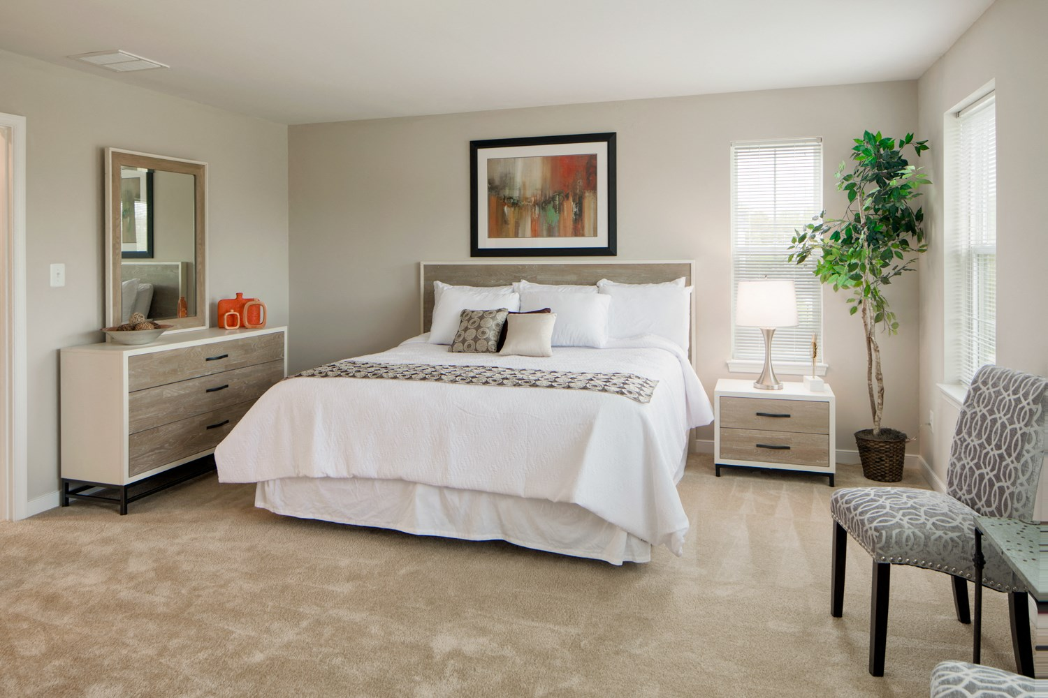 Spacious bedrooms with Over sized Windows at Townes at Pine Orchard, Ellicott City, MD 21042