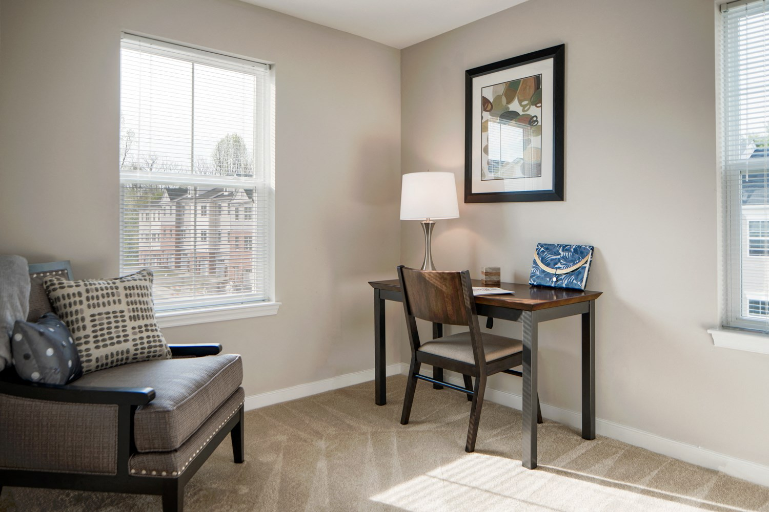 Den In all Apartments at Townes at Pine Orchard, Ellicott City, 21042