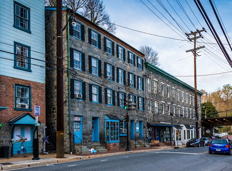 Downtown Ellicott City at Townes at Pine Orchard, Maryland 21042