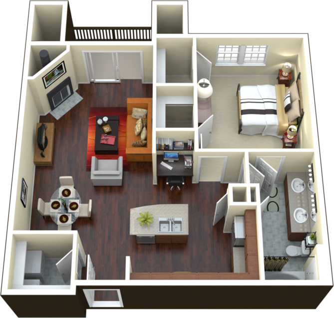 A2 - The Demeter Floor Plan 2