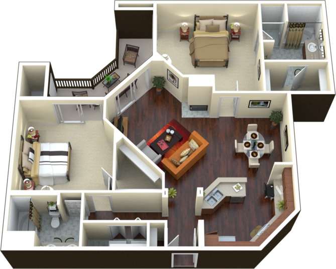 B3 - The Perseus Floor Plan 7