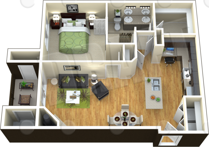A3 - The Calliope Floor Plan 3