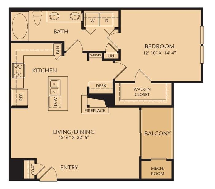 A4 - The Circe Floor Plan 4