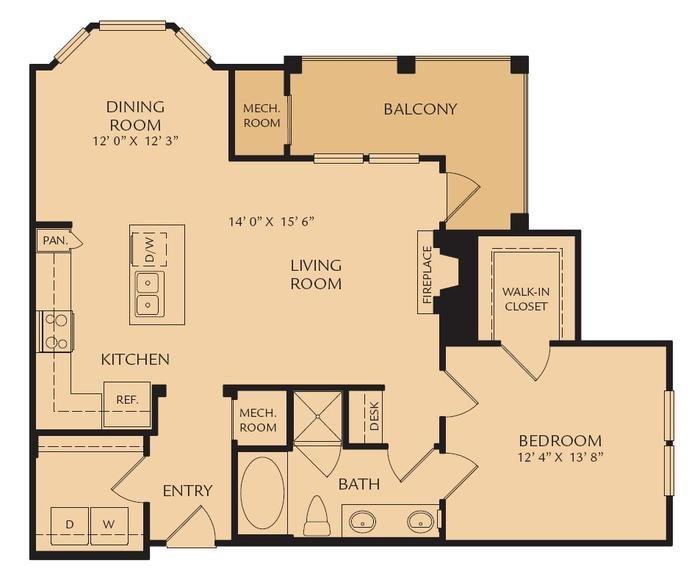 A5 - The Clio Floor Plan 3