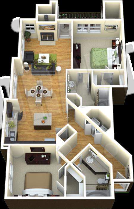 B1A - The Liriope II Floor Plan 6