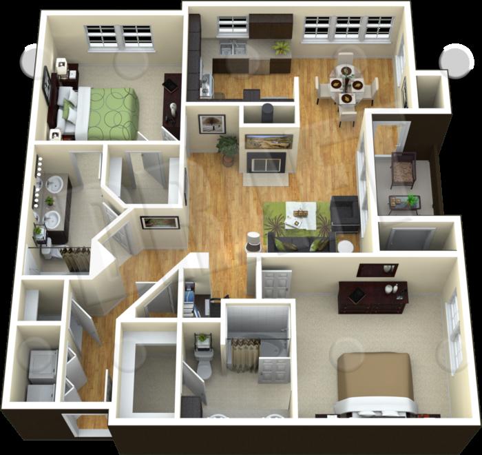 B3A - The Proteus II Floor Plan 5